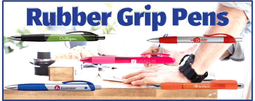 Rubber Grip Pens
