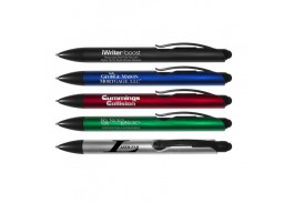 The iWriter® Boost Retractable Ball Point Pen & Stylus