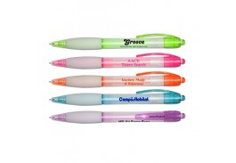 Groove Retractable Ball Point Pen