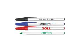 Round Ball Point Stick Pen