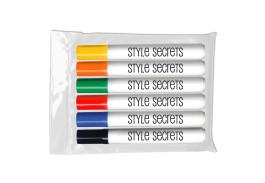 Dry Erase Bullet Tip 6 Pack