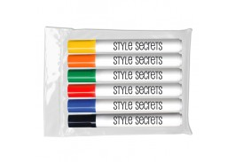 Dry Erase Chisel Tip 6 Pack