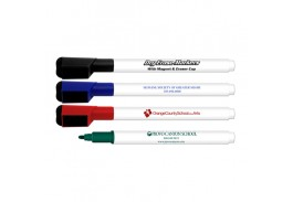 Dry Erase Markers With Eraser & Magnetic Cap