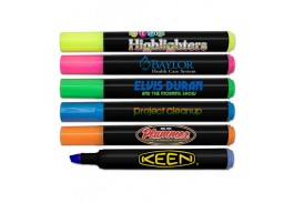 Brite Spots® Black Jumbo Highlighters - FCDP