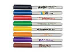 Fine Point Wet Erase Markers