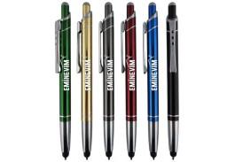 Olson Metallic Metal Stylus Ballpoint Pen