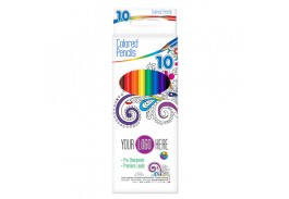 Color Therapy® 10 Pack Colored Pencils