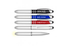 iWriter® Glow – Metal Stylus Pen with LED Light