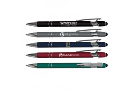 iWriter® Exec – Metal Rubberized Stylus Pen