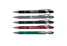iWriter® Exec – Metal Rubberized Stylus Pen